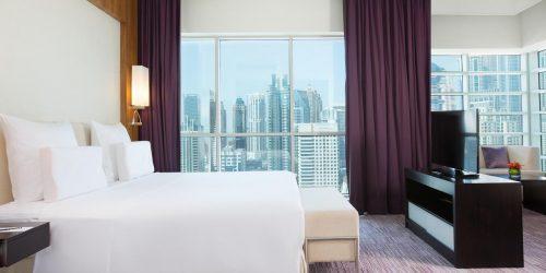 Hotel Pullman Dubai Jumeirah Lakes Towers vacante exotice