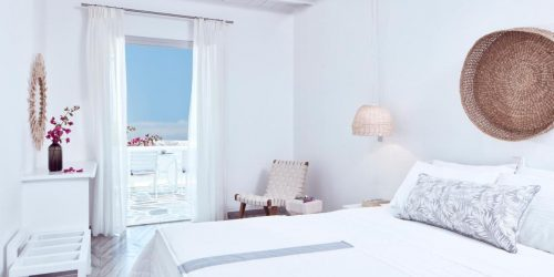 Mr. and Mrs. White Paros travel collection mykonos vacante exotice