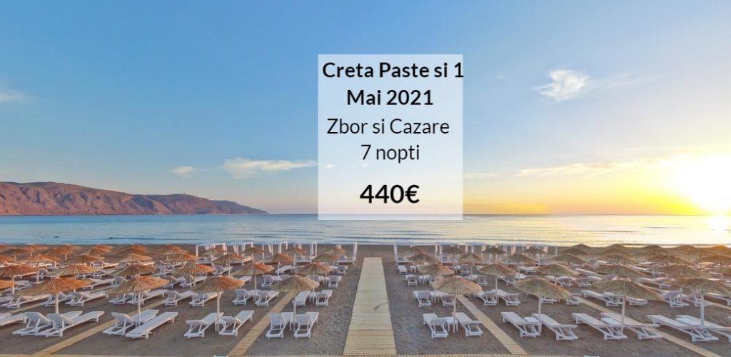 oferta creta grecia paste si 1 mai 2021 travel collection zbor charter