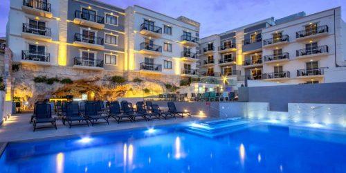 oferta ieftina malta travel collection agentie de turism Hotel pergola melieha
